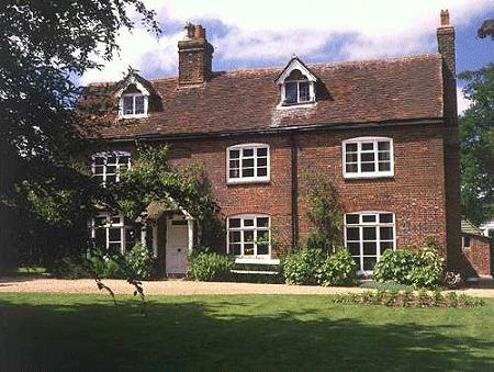 Rooks Nest, the house that served as a model for that in Howards End.