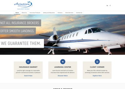 Aviation Solutions Home Page Carousel