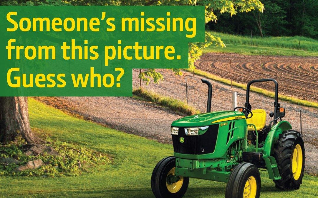 John Deere Green Tag Campaign
