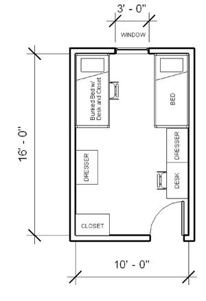 Academic House Layout