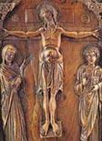Pannello d'avorio - tardo x secolo - Museo Calouste Gulbenkian - Lisbona