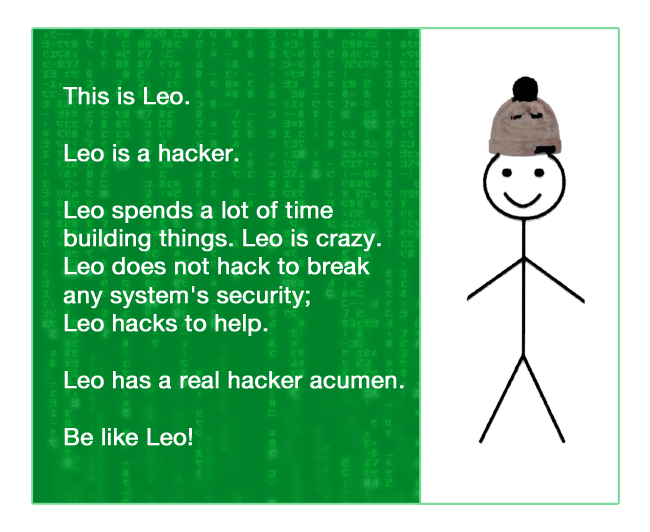 be-a-hacker :: be-like-leo