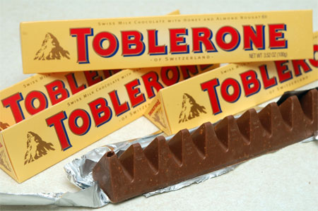 toblerone cokolada