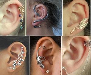Naušnice – Ear Cuffs