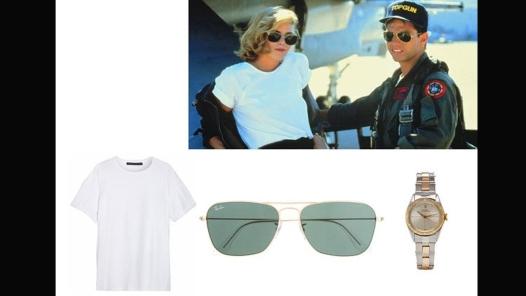Kelly McGillis and Tom Cruise u filmu Top Gun