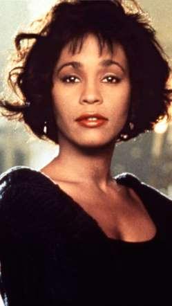 Whitney Houston frizura