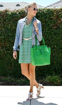 zelena torba se smatra univerzalnom