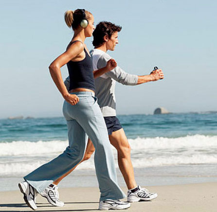 fitnes hodanje