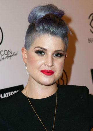 Kelly Osbourne serenity plava boja kose
