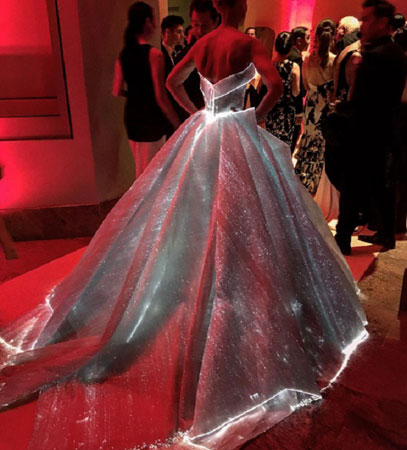Claire Danes na Met Gala 2016