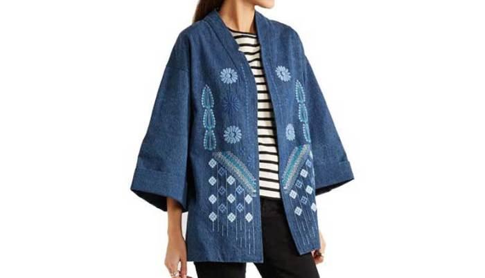 Kimono teksas jakna