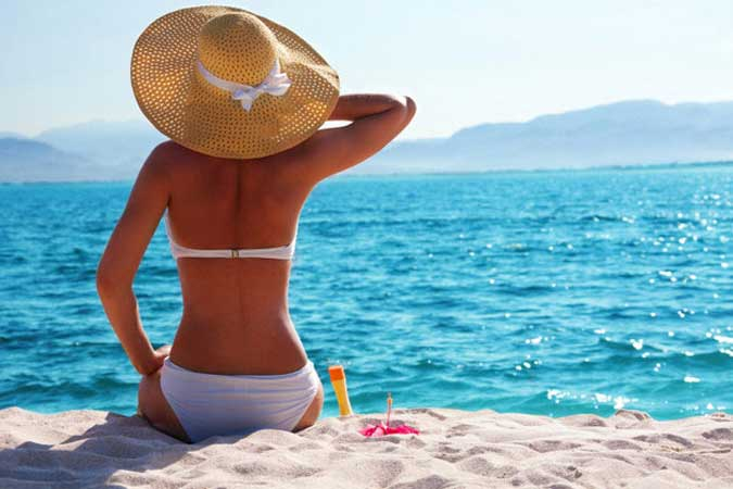 Kako negovati kožu Na moru