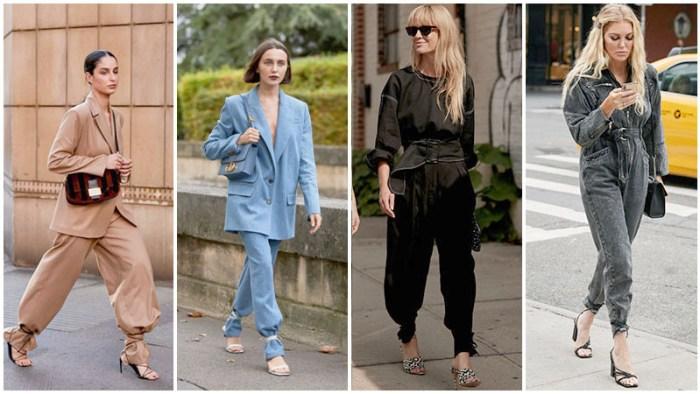 najnoviji modni trenovi za 2020 - pantalone vezane kaisevima od cipela