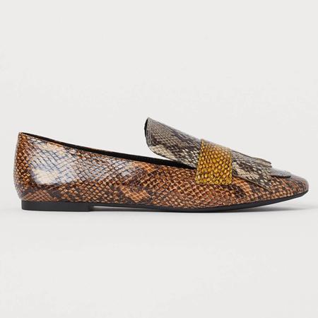loafers sa zmijskim printom