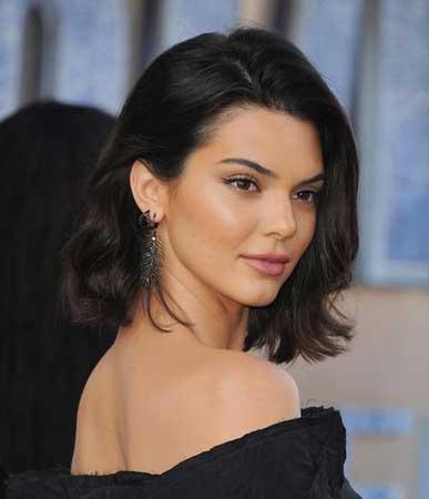 Popularne frizure za jesen - Kendall Jenner