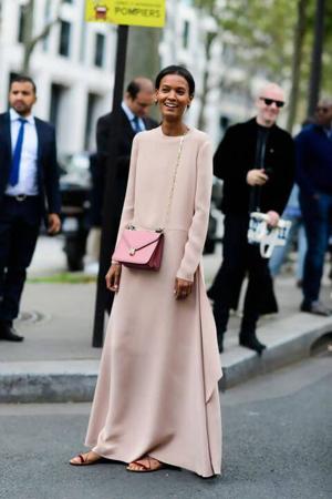 sandale uz dugu haljinu