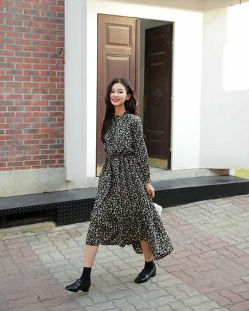 loafers uz dugu haljinu