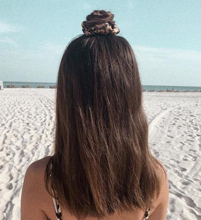 pundjica na vrhu glave