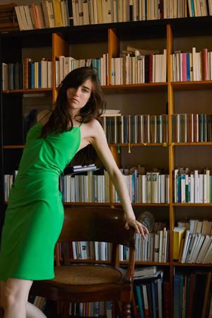 zara nova kolekcija -mid zelena haljina