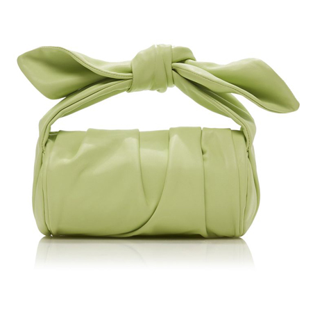 pastelno zelena sa cvor drskom