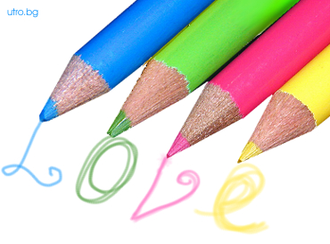 Измислици с моливи сърце