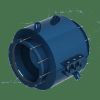 Encapsulating Repair Muffler - Pipe Repair - UTS Engineering