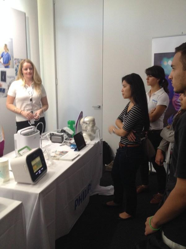 Uts Biomedical Engineering Students Visit Philips