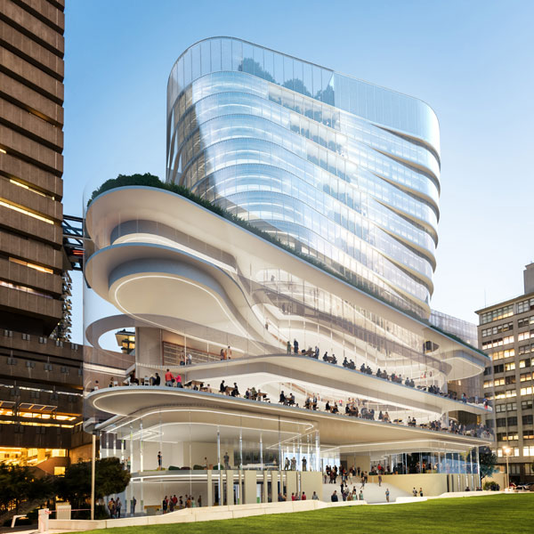 Distinctive design for new Building 2 revealed  University of Technology Sydney