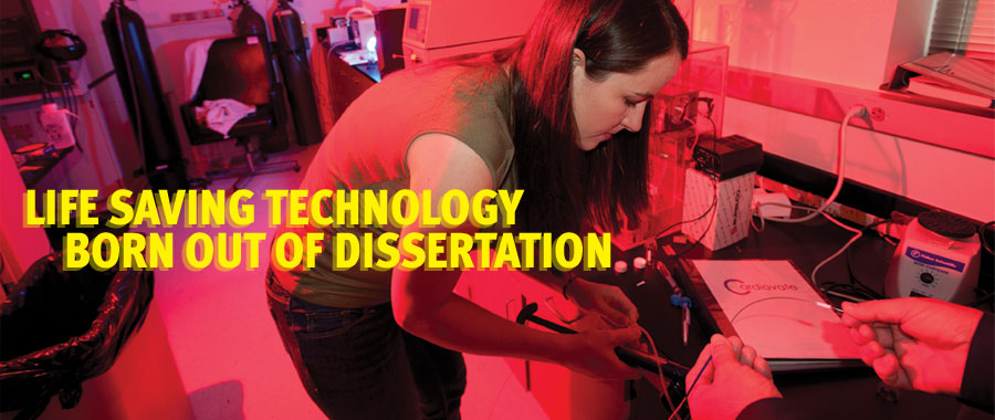 Life Saving Technology Born out of Dissertation  Feature