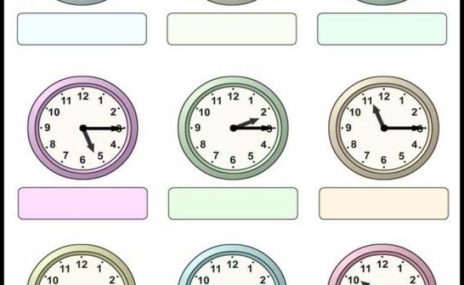 øvelser For Barn Hva Er Klokken 24
