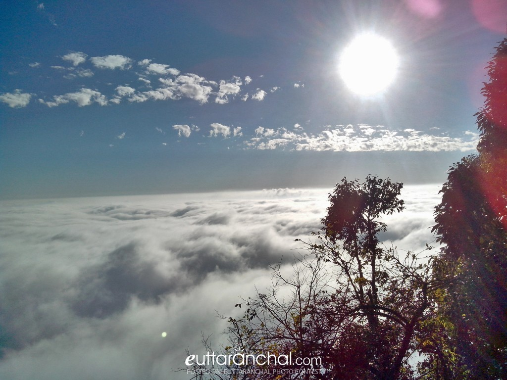 above the clouds uttarakhand