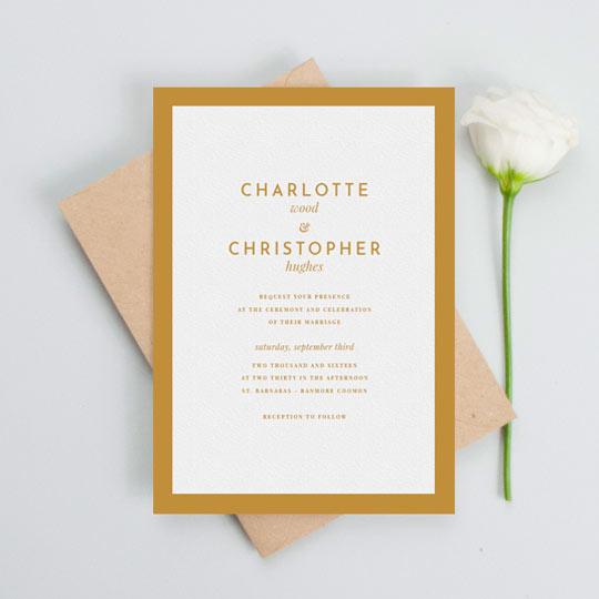 wedding invitations customise print