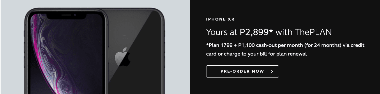 iPhone XR Philippines - Globe's ThePLAN Offer
