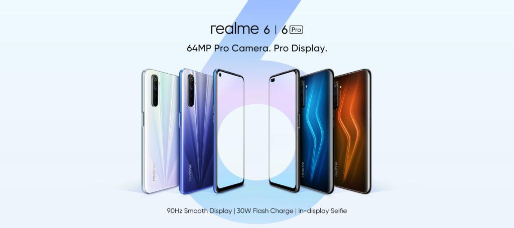 realme 6 and 6 Pro