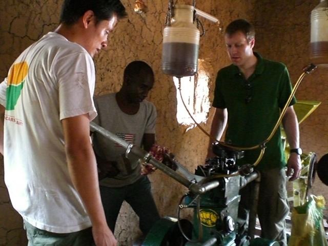 left Sebastian, middle Mali Mechanic, right Matt