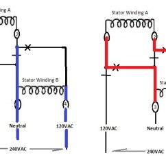 120 240 Motor Wiring Diagram Generac Manual Transfer Switch Synchronous Generator Basics, Simple Guide To Rewire Your Head. | Utterpower.com
