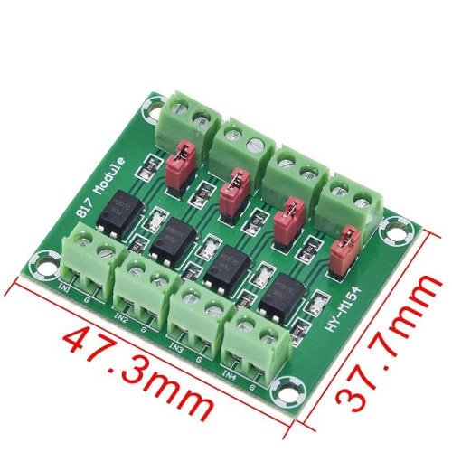 PC817 Optocoupler 4 Channel Voltage Isolation Board Voltage Converter
