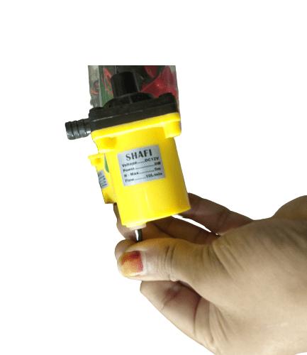 12V 1A Submersible Solar Water Pump 10L Min Capacity 1