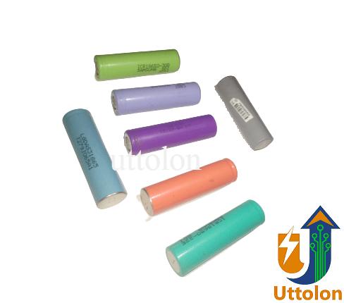 3.7V 18650 Li-Ion Original Laptop Lithium Battery Good Quality uttolon (2)