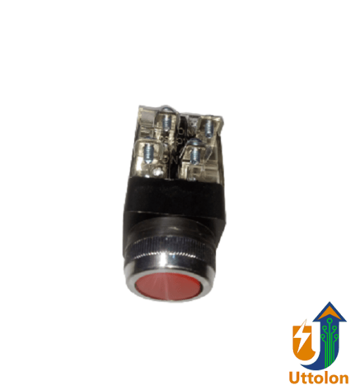 AC/DC Momentary Push Button Switch 600V 10A