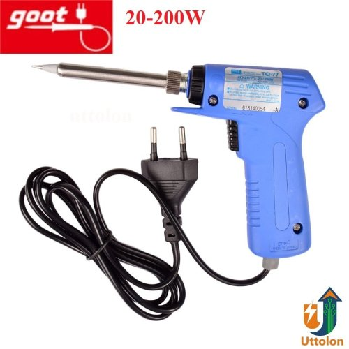 Soldering Iron Quick Heating QT 77 Goot 20-200W uttolon