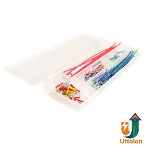Solderless Breadboard Jumper Cable Wire Kit Box for Arduino Shield 140pcs uttolon