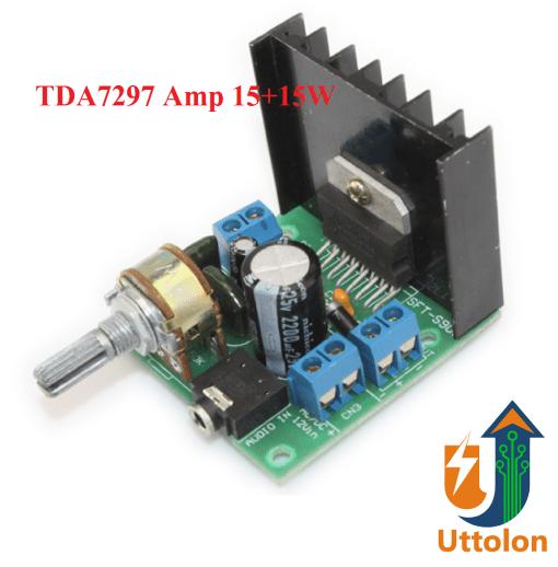 TDA7297 Digital Stereo Audio Amplifier Board
