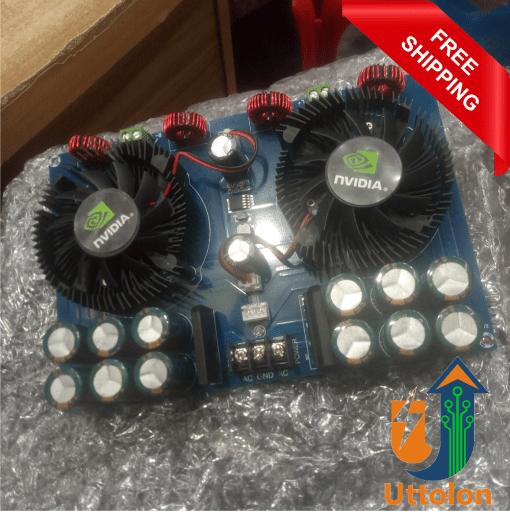 TDA8954TH Class D 420W2 Hight Power Digital Audio Amplifier Board AC24V