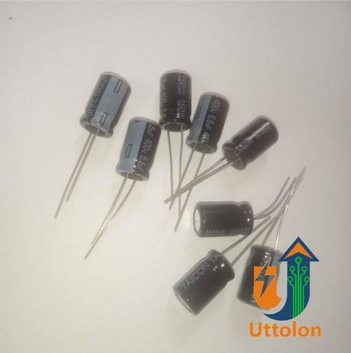 6.8uf 400v capacitor uttolon bd