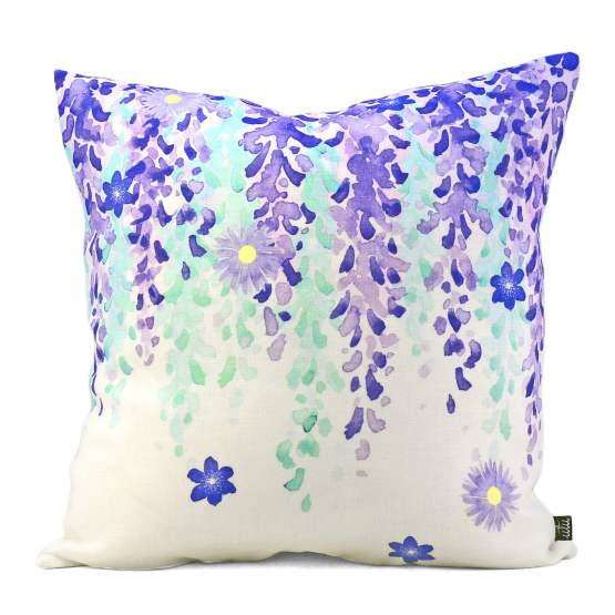 Fuji Lila Cushion Cover