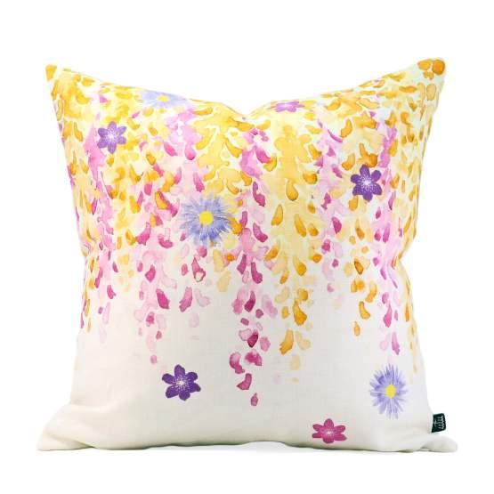 Fuji Pink Cushion Cover