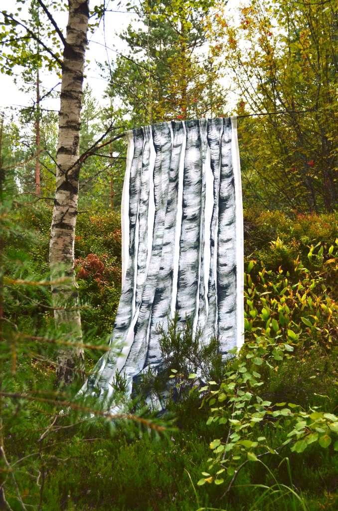 Koivikko ready-made curtain