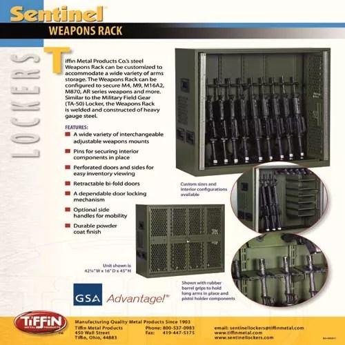 Weapons Rack 2011