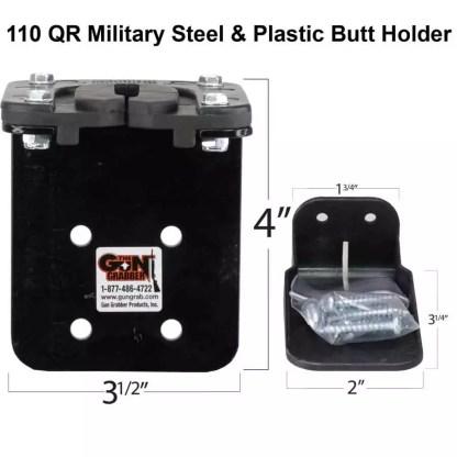 110 QR Military Grade Steel Gun Rack